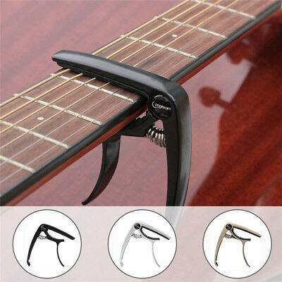 Alloy Quick Change Guitar Tuner Clamp Key Trigger Capo Tuning For Ukulele Guitar