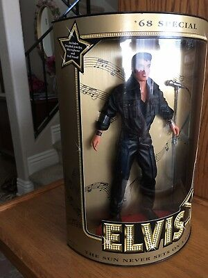 "Elvis Presley ""68 Comeback Special"" Collector's Edition Doll - NRFB!"