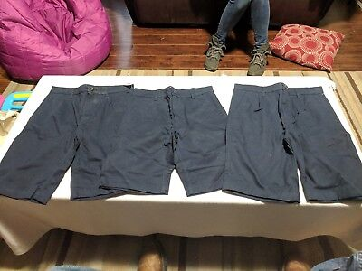 Old Navy Boys Uniform Shorts Lot Of Two. Size 12 & 14