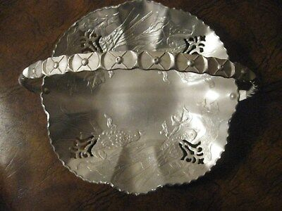 (3) VintageHAMMERED ALUMINUM Serving Pieces - Trays and Casserole