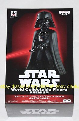 Banpresto Star Wars World Collectable Figure Premium Darth Vader WCF