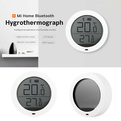 Xiaomi LED Display Bluetooth Thermostat Accuracy Temperature Humidity Monitor