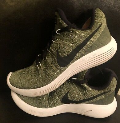 7f365540c4a02 Nike Lunarepic Low Flyknit 2 Running Shoes Womens Sz 9.5 Palm Green 863780  300