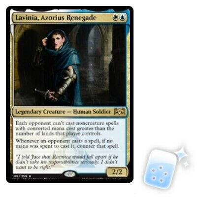 LAVINIA, AZORIUS RENEGADE Ravnica Allegiance RNA Magic MTG MINT CARD