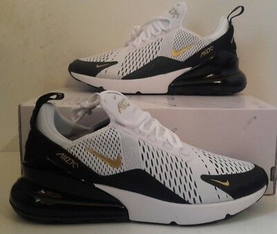 NIKE AIR MAX 270 Men's Running Trainers Shoes Black and
