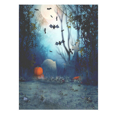 1.5*2m Hallowmas Halloween Photography Photo Studio Backdrop Background Cam G4K5
