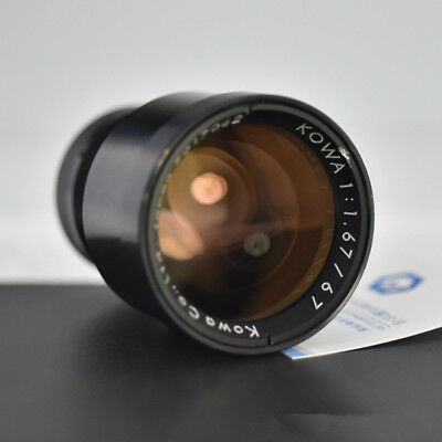 1pcs Used KOWA 67mm 1:1.67 Constant aperture industrial lens High resolution
