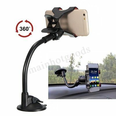 Universal in Car Mobile Phone GPS Holder With Locking Suction Mount Sat NAV PDA
