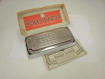 Rolls Razor Imperial #2 with Box & Instructions - Made in England - Vintage