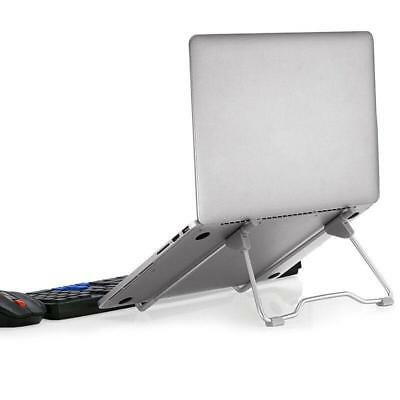 Adjustable Laptop Stand Foldable Table Desk Mount MacBook PC Holder Metal Black