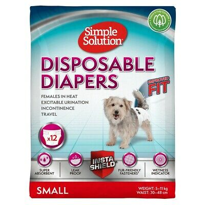 Simple Solution Diapers Small - 12 Pack