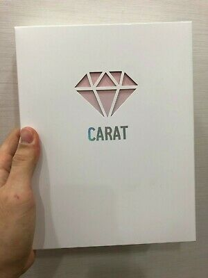 Seventeen Official 3rd Carat Membership Fan Kit Photo Card Multi Binder Kpop