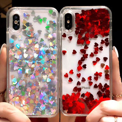 Fr Iphone 8 Plus 6s 7 Plus XS MAX Bling Glitter Cute Protective Phone Case Cover