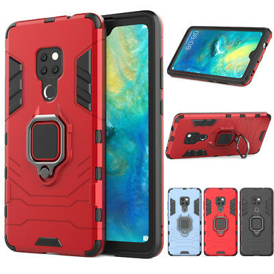 Rugged Shockproof Stand Tough Case Heavy Duty Armor Cover For Huawei Mate 20 Pro