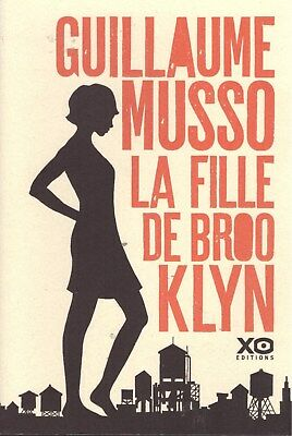 Guillaume Musso La Fille De Brooklyn + Paris Poster Guide