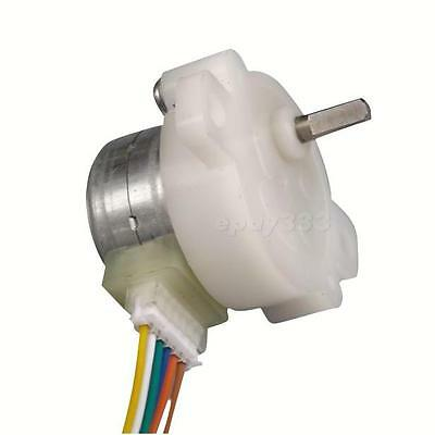 4-Wire Gear Stepper Motor DC 12V 2-Phase Step Motor Full Metal Geared Box Qualit
