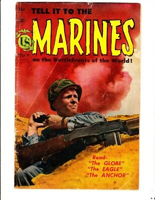 Tell it to the Marines 9 (1952): FREE to combine- in Good/Very Good condition