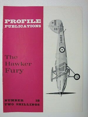 Profile #18 Hawker Fury: Camouflage, Specification, Service History, RAF, Persia