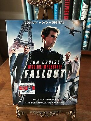Mission Impossible: Fallout  (Blu-ray + DVD + Digital) All Three Included!