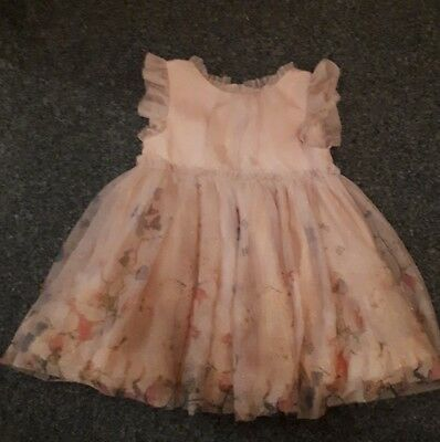 next girls 6-9 months christmas party dress
