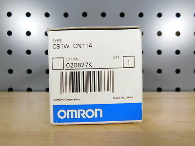 BRAND NEW - Omron CS1W-CN114 Connection Cable