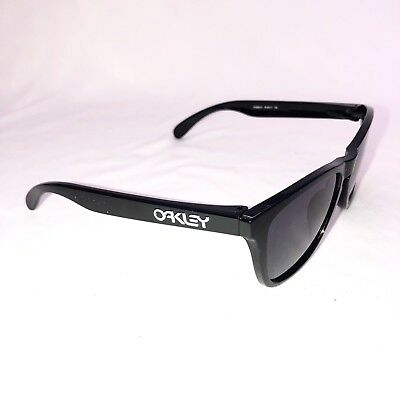 aba021d35cf Oakley FROGSKINS (Asia Fit) Polished Black Sunglasses Gray lens OO9245-01