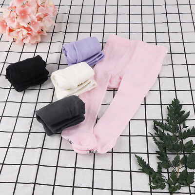 Soft Newborn infant baby girls toddler kids tights stockings pantyhose pants UK