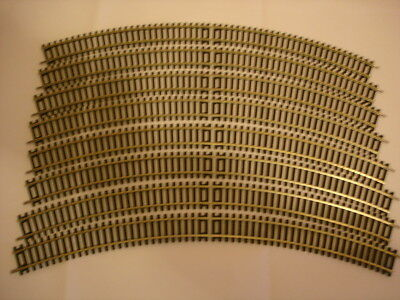 Hornby OO Track 3rd Radius double curve x8 New Unused R609