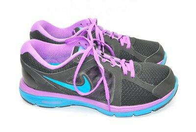 e8d5194c8a6 Womens Nike Running Shoes Size 11 US Black And Purple Dual Fusion Run  Nearly New