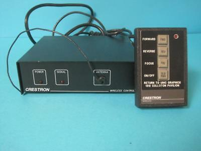 Crestron Electronics Slide Projector Wireless Remote Control W4-A Receiver