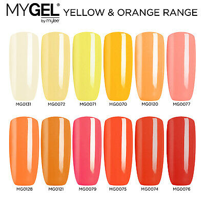Mylee MYGEL Yellow Range UV LED Soak-Off Gel Nail Polish Colour Manicure 10ml