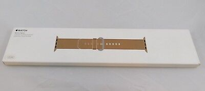 Authentic Nib Apple Watch Oem 42Mm Toasted Coffee Ss Buckle Replacement Band