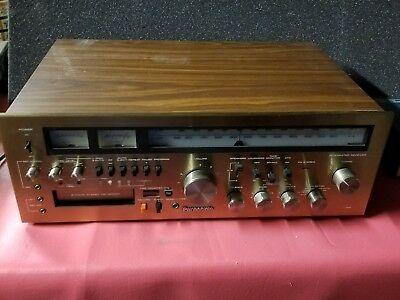 Panasonic RA-6600 AM/FM Reciever with 8 Track Player Recorder Vintage Tuner
