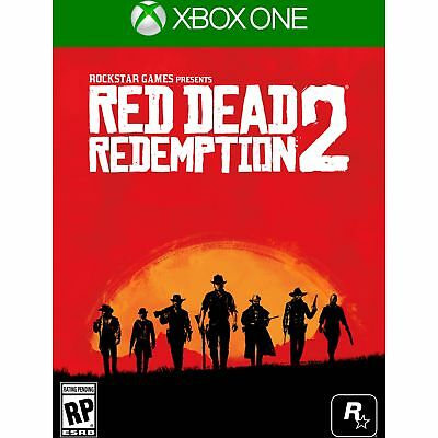 Brand New Red Dead Redemption 2 - Xbox One !! Sealed !!