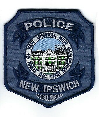 New Ipswich (Hillsborough County) NH New Hampshire Police Dept. patch - NEW!