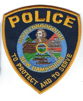 Moultonborough (Carroll County) NH New Hampshire Police Dept. patch - NEW!