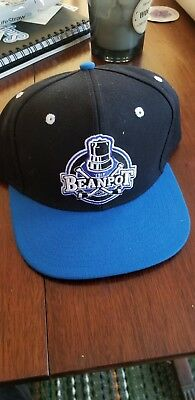 The Beanpot Tournament Boston Hat Cap One Size Adjustable Black//Blue