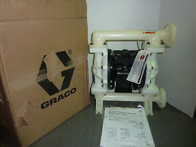 Graco 649029 Husky 1050 Plastic Air-Operated Double Diaphragm Pump End Flange