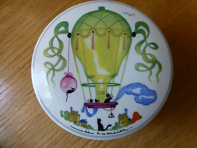 "Villeroy And Boch Luxemburg ""le Ballon"" Trinket Box With A Lid Vitro Porcelaine"