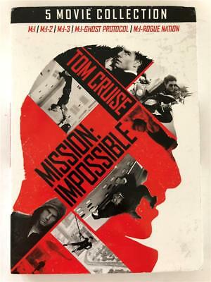 DVD Mission Impossible 5 Movie Collection M:I, M:I-2, M:I-3, M:I Ghost M:I Rogue