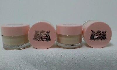 Lot Of 4 Juicy Couture .05 Oz Royal Body Creme 2 Oz Total 24 Months After Opened