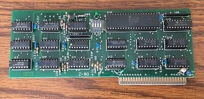 Z-80  CP/M Card for the Apple II Computer.  Tested, Working