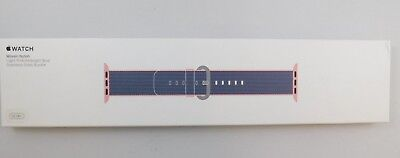 Authentic Nib Apple Watch Oem 38Mm Light Pink / Blue Ss Buckle Replacement Band