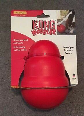 KONG Wobbler Treat Dispensing Dog Toy, Small (up to 25 lbs)