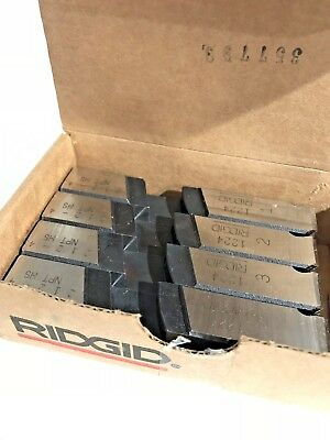 NEW!! RIDGID PIPE THREAD DIE, 2 1/2-4 IN NPT, 4PC, 1224 HS Made in USA