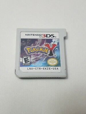 Pokemon Y Nintendo 3DS Cartridge Only Tested Authentic