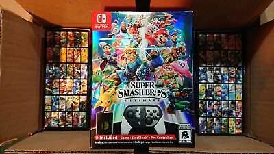 Super Smash Bros Ultimate Limited Edition for Nintendo Switch SEALED FLAWLESS