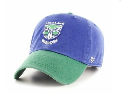 New Zealand Warriors NRL 2019 Two Tone Primary '47 Clean Up Baseball Cap Hat!