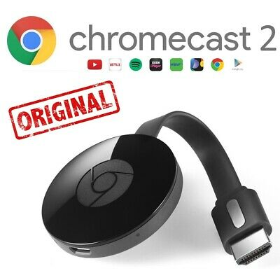 Google Chromecast Vidéo 2 Original Hdmi Streaming Lecteur Multimédia Home Mini
