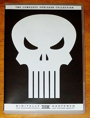 The Complete Punisher Movie & TV Bluray / DVD 9 Disc Collection